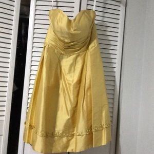 Silk Alfred Angelo cocktail gown NWT
